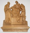14 - Jesus is placed in the sepulchre